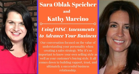 (Video) Using DISC Assessments to advance your business – with Sara Oblak Speicher